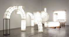 Space Frames, a series of abstract light volumes designed by Studio Mieke Meijer. Studio Mieke Meijer was founded by Mieke Meijer and Roy Letterlé. Home Interior Design, Interior Decorating, Studio Interior, Light Art, Light Bulb, Neon Led, Space Frame, Style Deco, Design Blog