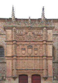 GOTICO ISABELINO - RECARGAMENTO PLATERESCO - University of Salamanca - Plateresco - Wikipedia, la enciclopedia libre