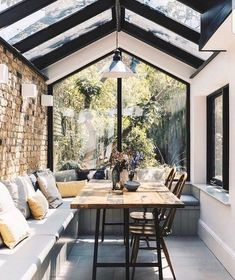 Beautiful Patio Inspiration // Voguehem The Perfect Scandinavian Style Home Patio Interior, Home Interior Design, Exterior Design, Kitchen Interior, Scandinavian Interior Design, Contemporary Interior, Modern Home Interior, Wall Exterior, Dream House Interior