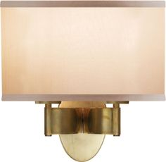 circa lighting 'graceful ribbon double sconce' by Barbara Barry