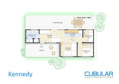 Kennedy :: Cubular Container Buildings Nice separate lounge...2nd bedroom could easily be a convertible desk