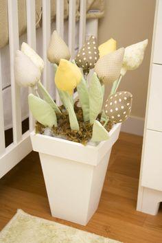 Vaso de flores de chão
