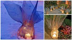 DIY Beautiful Screen-Wrapped Mason Jar Lanterns in 6 Simple Steps!