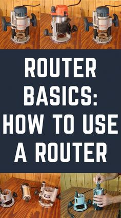 to use a router, but don't know where to start? Learn how to use a router with these router techniques and tips.Want to use a router, but don't know where to start? Learn how to use a router with these router techniques and tips. Woodworking Basics, Router Woodworking, Woodworking Techniques, Easy Woodworking Projects, Woodworking Furniture, Fine Woodworking, Wood Furniture, Wood Projects, Woodworking Classes