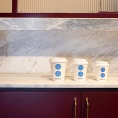 Monday morning coffee options and Carrara marble at Rialto . Designed by . Build by Photo by… Monday Morning Coffee, Carrara Marble, Natural Stones, Lab, Kitchens, Canning, Projects, Instagram, Design