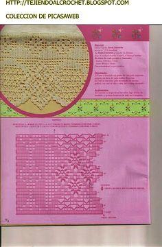 GRAFICOS=CROCHET=GANCHILLO=PUNTILLAS =COLECCION DE PICASAWEB