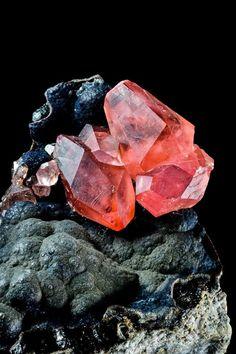 Rhodochrosite from San Martín Mine, Peru