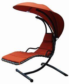 Modern Home Island Breeze Swing Lounge Chair With Cushion
