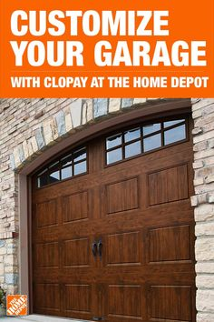 Boost the curb appeal of your home with a vintage style garage door from The Home Depot. Featuring Intellicore insulation technology, Clopay provides a quiet, energy-efficient garage door. Tap to shop garage doors and everything you need to boost your curb appeal at The Home Depot.