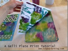A Gelli Plate Print Tutorial | True Color