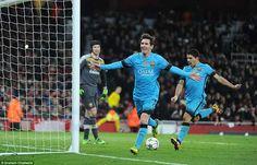 """Cúp C1 sôi động hơn khi Messi """"phá dớp"""" trước Cech"""