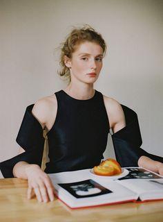 Saska @ IMG photographed by Masha Mel for The Editorial Magazine