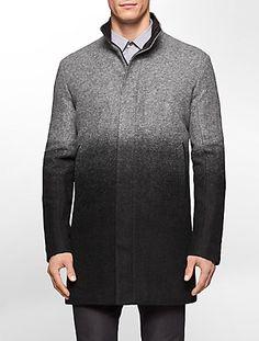 ombre wool coat | Calvin Klein