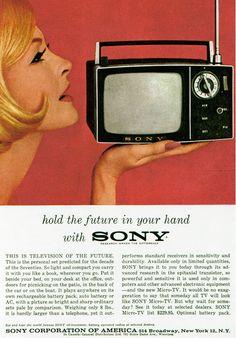 Zu Beginn der Sechziger Jahre arbeiteten die Forschungsabteilungen bei Sony an einer Reihe von neuen, teils geheimen Projekten. Neben der En...