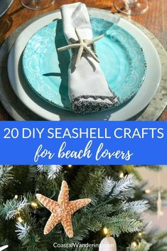 Here are 20 good DIY ideas for all these shells! All you need is a seashell or a sand dollar, … Diy Home Decor Projects, Cool Diy Projects, Projects For Kids, Project Ideas, Craft Ideas, Decor Ideas, Diy Ideas, Picture Christmas Ornaments, Diy Christmas Gifts