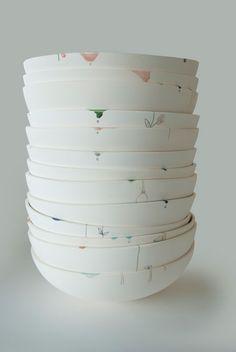 bowls by Studio Elke van den Berg
