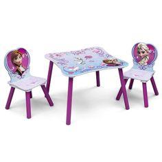 Disney Princess Anna and Elsa Chair and Table Set