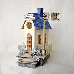 Other: Tim Holtz Village Dwelling Inspiration found on the Sizzix FB Page