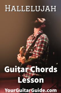 Hallelujah Guitar Chords Lesson This is a guitar lesson to show you from start to finish how to play the song Hallelujah. Hallelujah Guitar Chords, Play Guitar Chords, Guitar Strumming, Guitar Tabs Songs, Easy Guitar Songs, Learn To Play Guitar, Music Guitar, Playing Guitar, Learning Guitar
