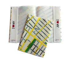 NEW YORK map passport cover  Showing the soho area  by efratul