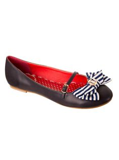 f6356a2e56 Chaussures Ballerines Rockabilly Vintage Retro Banned
