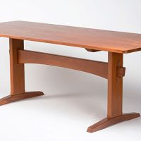 Riverdale Trestle Table | Eben Blaney - Fine Contemporary Furniture