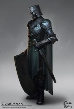 ArtStation - Guardsman (I.Nephthyrion), Tate S.
