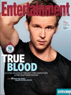 """""""True Blood"""" Stars Cover Entertainment Weekly """"True Blood"""" Stars Cover Entertainment Weekly -- Jason"""