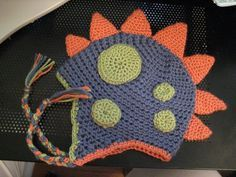 Ravelry: Dinosaur Spike pattern by The Boy Trifecta    Free pattern