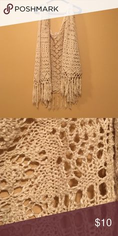 Short sleeve cardigan Short sleeve knit cardigan. Worn once Maurices Sweaters Cardigans