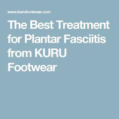 treating plantar fasciitis pain