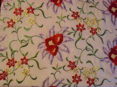Brilliant Creamy Beige 1920s Vintage Silk Shawl by badgirlvintage