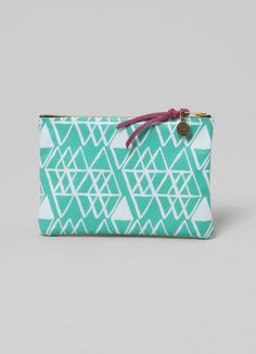 Diamond Pattern Leather Wallet
