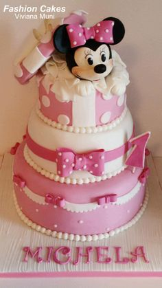 Minnie Cake - Cake by fashioncakesviviana