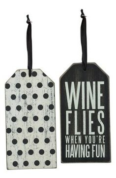 Wine Bottle Tags. Oh my goodness. How cute. How fun.