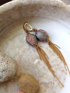 desert rain earrings. jennifer morris