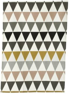 Triangles Tea Towel / Fern Living