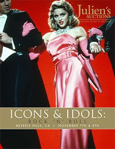 Julien's Auction announces Madonna's memorabilia to be auctioned in Nov. :: MadonnaGlam