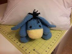 Crochet Crafts: Eeyore Inspired Amigurumi