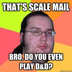 That's Scale Mail bro, do you even play D&D?  Butthurt Dweller