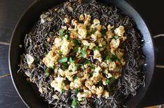 Black Bean Pasta with Crispy Cauliflower