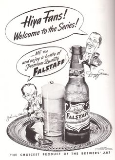 Falstaff, 1944 Beer Cap Coasters, Beer Caps, Cardinals Baseball, American League, Old Ads, Brewing Co, Vintage Ads, Missouri, Whiskey Bottle