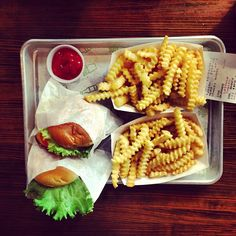 Had one of their burgers when we were in NY.  What Shake Shack Dishes Never Worked Out? - Bon Appétit