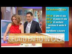 COME FARE IL GELATO FATTO IN CASA SENZA GELATIERA DI LUCIA CUFFARO - YouTube