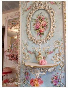 Staggering Useful Ideas: Shabby Chic Office Gardens how to do shabby chic furniture.Shabby Chic Dining Home Tours shabby chic interior bathroom. Shabby Chic Pink, Shabby French Chic, Shabby Chic Wall Art, Shabby Chic Mode, Shabby Chic Vintage, Estilo Shabby Chic, Shabby Chic Interiors, Shabby Chic Bedrooms, Shabby Chic Kitchen