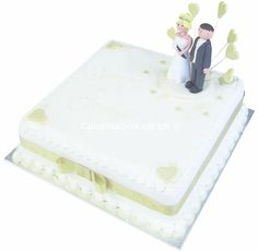 Emperial Square Wedding Cake