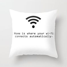 Home is where your wifi connects automatically!!  @stefaniachrys