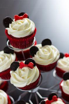 cupcakes mickey y minnie
