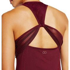 CALIA by Carrie Underwood Women's Ruched Racerback Tank Top | CALIA Studio