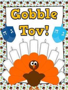 Gobble Tov! FREE Thanksgiving & Hanukkah Activities for K-2